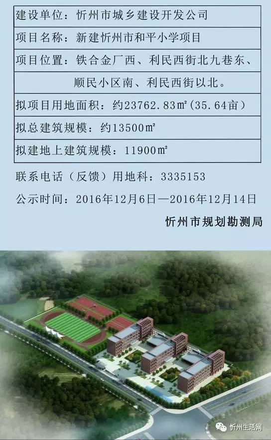 忻州团队和平!选址与规划图出炉!小学生小学v团队图片