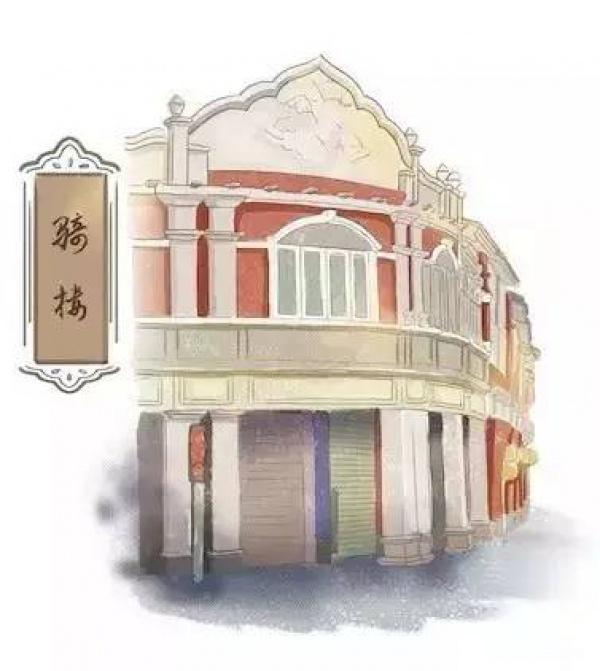 呼哈城市|手绘的闽南古厝, 古老的深远韵味