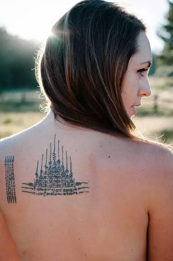 时尚 正文  起初,泰国的纹身图案只有佛像和佛经,据说是13世纪时由图片