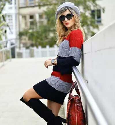 今天美姐带大家一起看看时尚达人的贝雷帽搭配大法,让你在这个秋冬