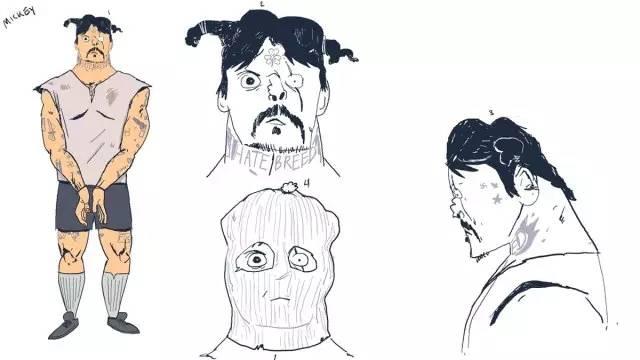 动漫 简笔画 卡通 漫画 手绘 头像 线稿 600_337