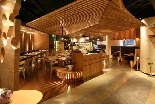 日式餐饮装修风格欣赏