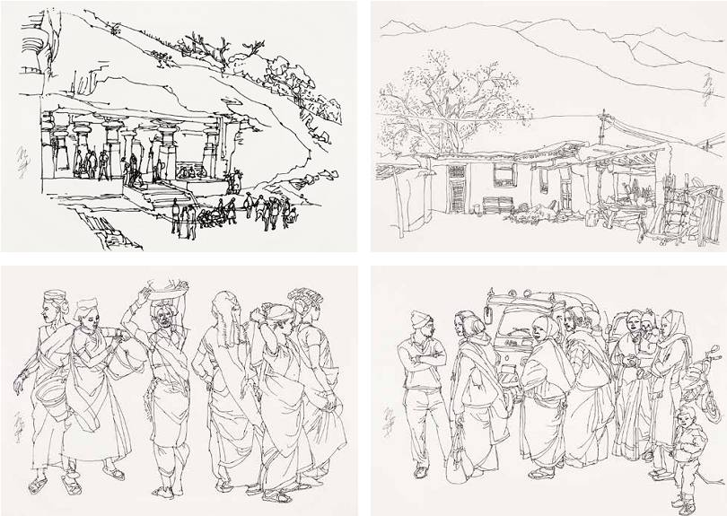作品抢先看 | 中国国家画院一带一路采风写生作品展预告(上)图片