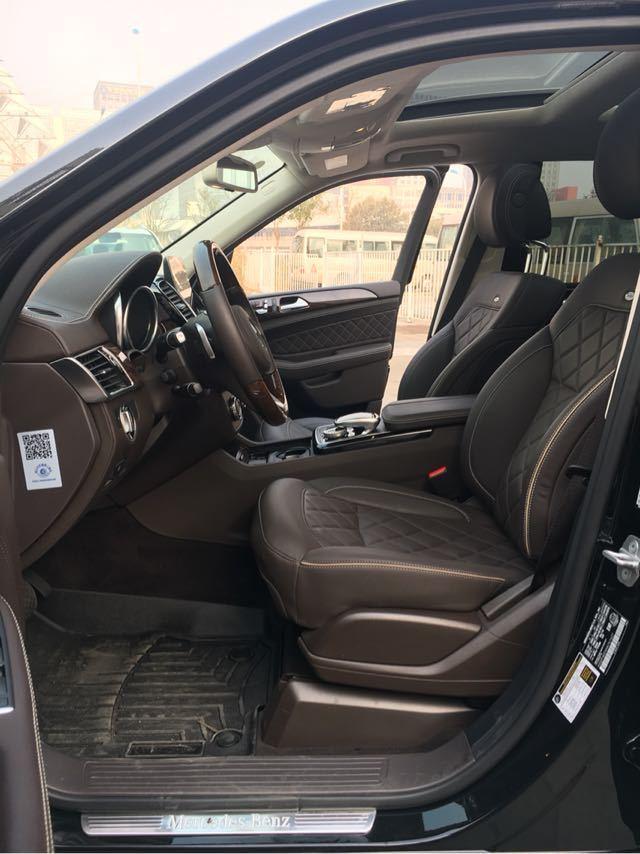 18款奔驰GLS450加版越野造型仍然硬派港口现车特惠中