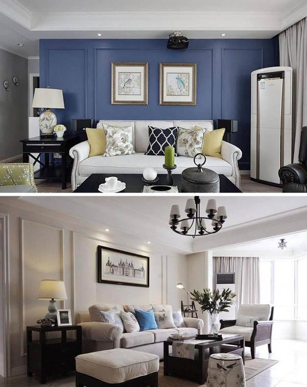 18款美式风格沙发背景墙挑花眼 哪一款是你的菜?图片