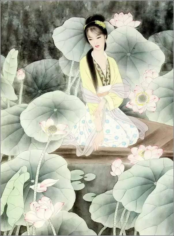 古典美女绘画