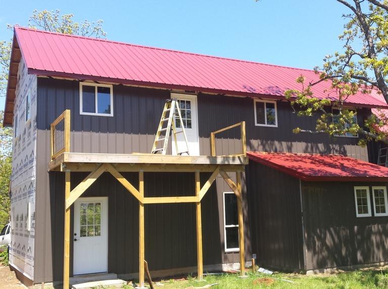木结构小房子的