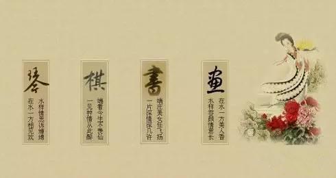子的七种姿态 琴棋书画诗酒花