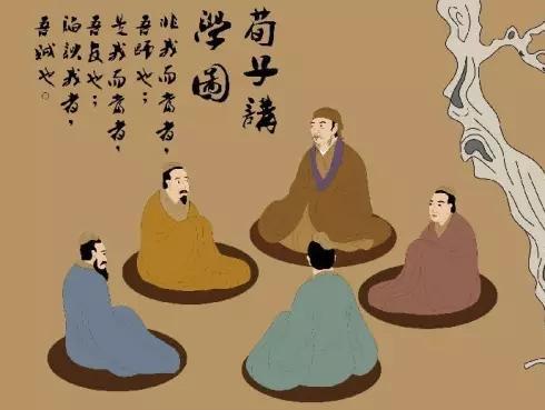 孟子荀子孔子_先秦儒家三个最伟大的人物是孔子,孟子,荀子.