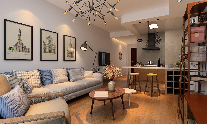 合肥百商悦澜山朴素的色彩,简约的家具北欧装修