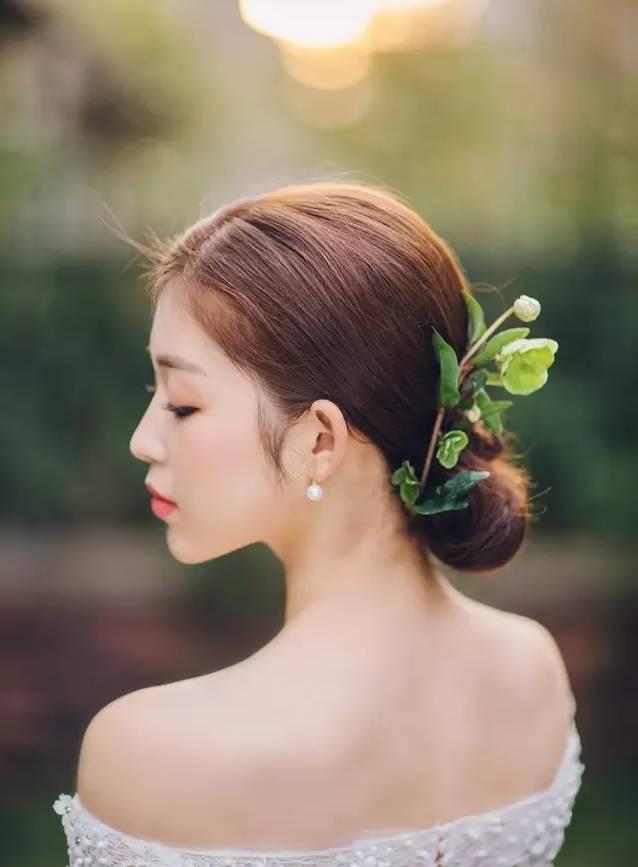 婚礼| 最全鲜花造型打造完美森系新娘!图片