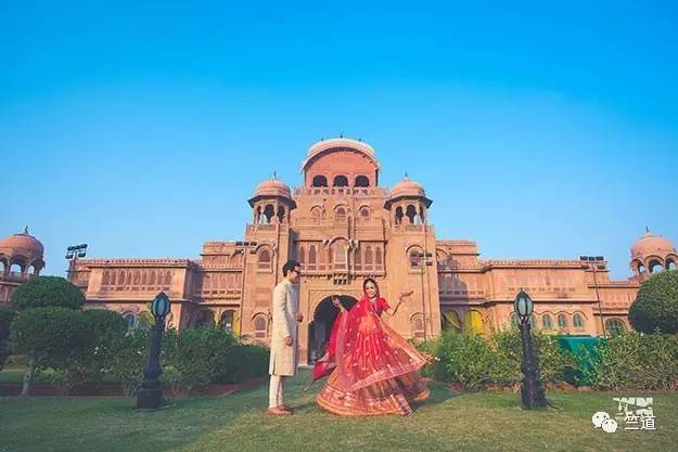 """到印度拍婚纱照去,体验一回异域风情"""""""