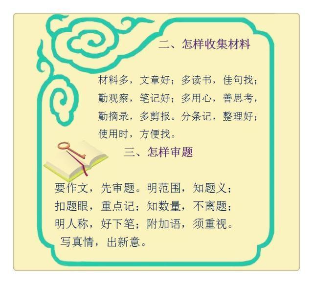 三字经体高考作文_女孩满分作文的秘密:21条作文三字经,不怕写不好!
