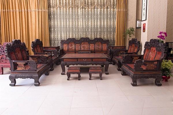 红木沙发样式图片