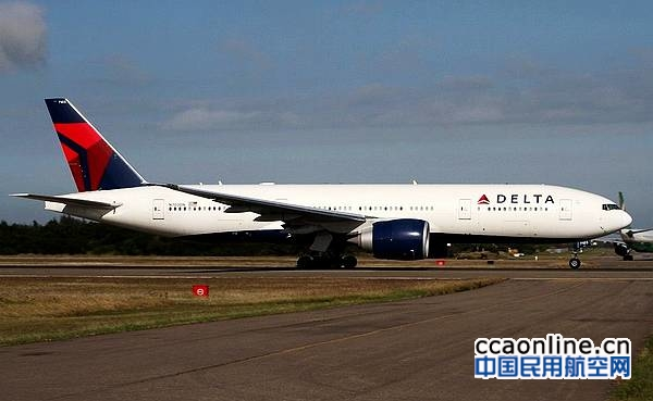 美国达美航空飞机在浦东机场发生不安全事件