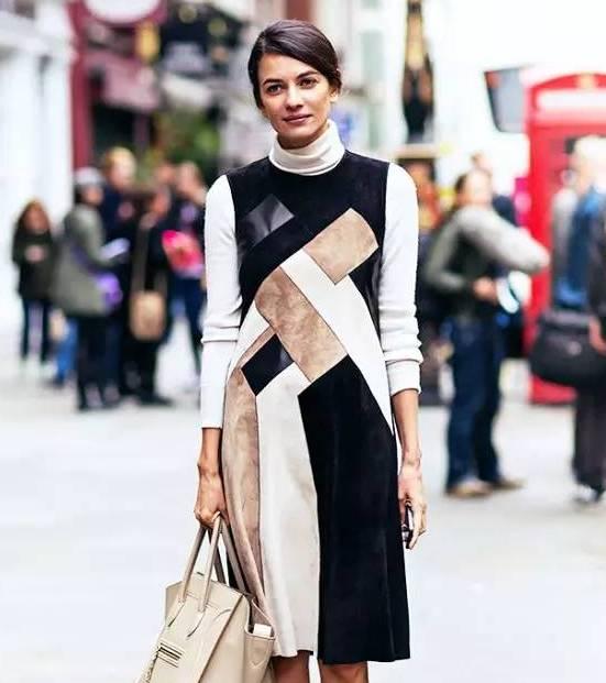 最显气质搭配 : 针织衫 半裙 秋冬最美就是你!