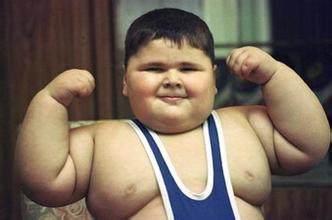 """孩子长得胖,并不是你把孩子养的好"""""""