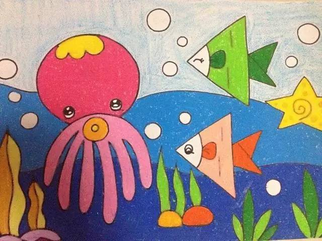 儿童画 640_480图片