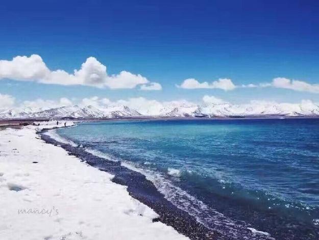 """冬天的西藏少了如织的游人 还原淳朴美丽本真面貌"""""""