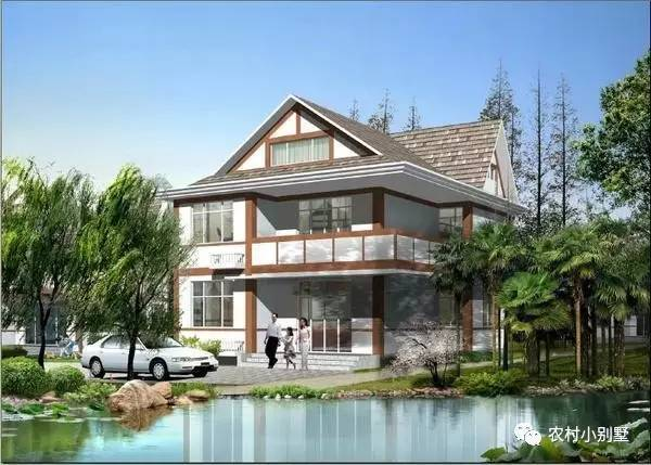20款农村小别墅设计图 20万元内的农村别墅效果图