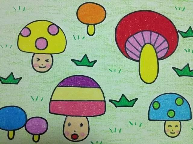 幼儿园儿童范画大全,范画绘画教程