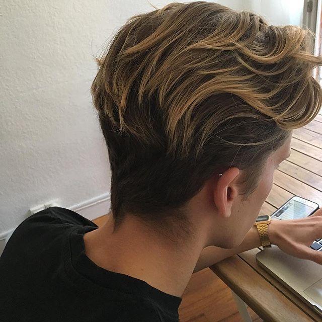 男士购:男生发型大全 再也不担心剪什么发型了图片