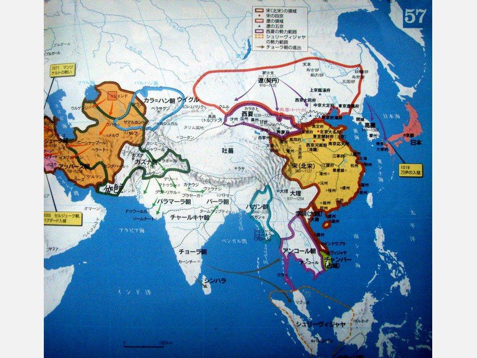 中国古代疆域最为广大的蒙元帝国