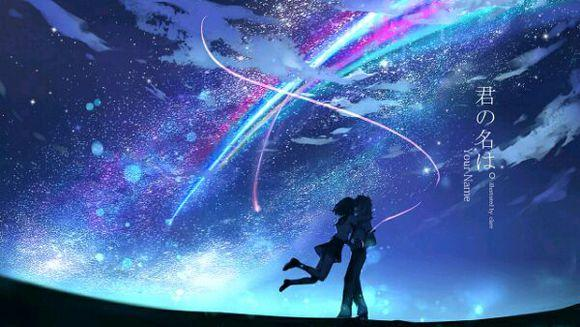 《你的名字.》高清图片第一波梦幻场景美轮美奂