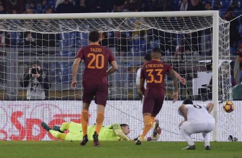 半场-米兰0-0罗马,拉帕造点尼昂罚失