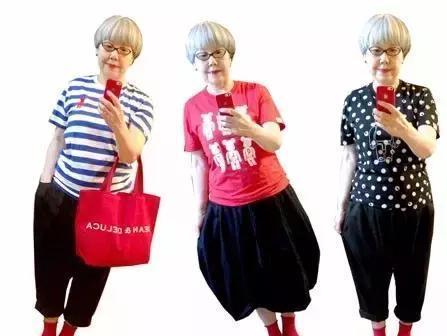 """杨幂刘诗诗low爆了,这60岁老奶奶穿得比她们潮"""""""