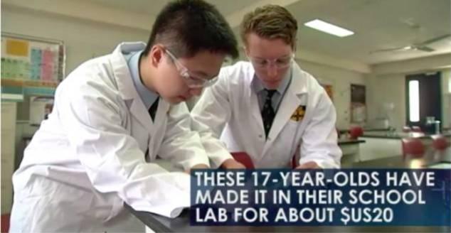 澳大利亚澳元高中生用20父母制出亚裔救命药冲突高中生天价原因起的现在的与图片