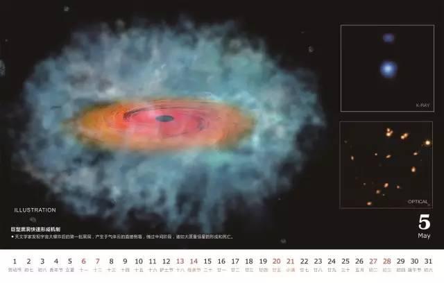 2017年天文台历和挂历