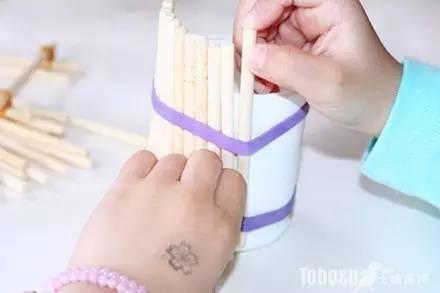 一次性筷子废物利用手工diy制作方法一