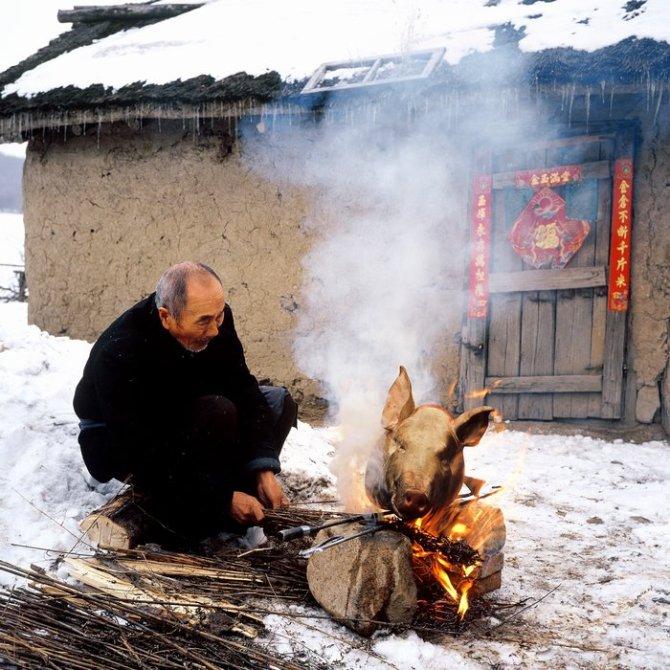 记录北方农村70 80年代的老照片