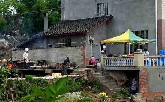 回忆那美味的四川农村九斗碗坝坝宴图片