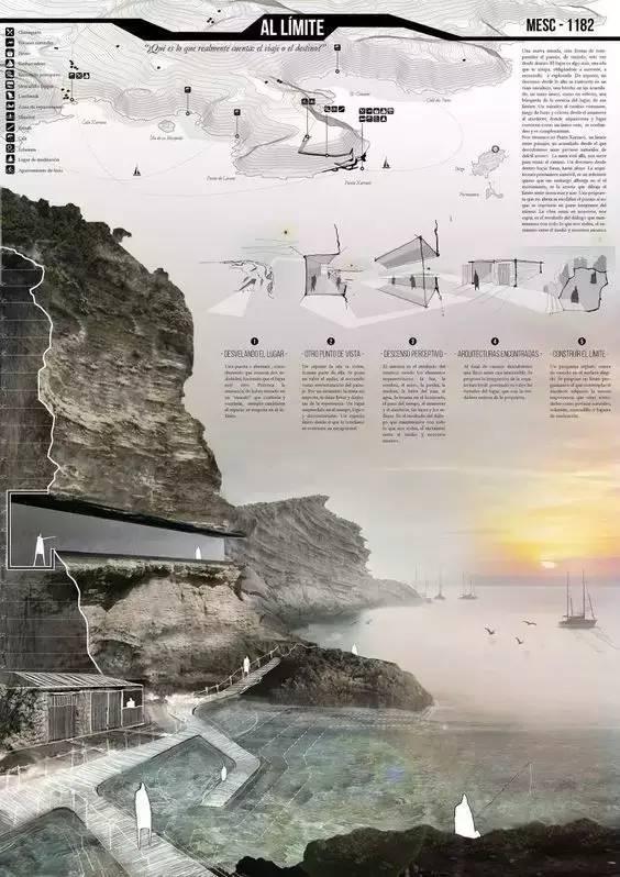 高逼格的景观设计排版(横