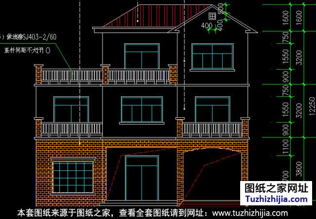 房产 正文  图纸目录:建筑设计说明,一层平面图,二层平面图, 三层别墅