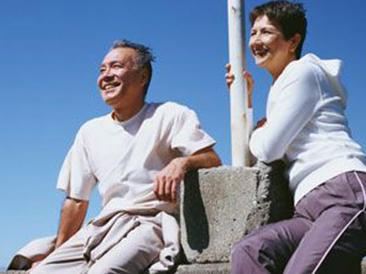 """人的寿命15决定于遗传,但60决定于自己"""""""