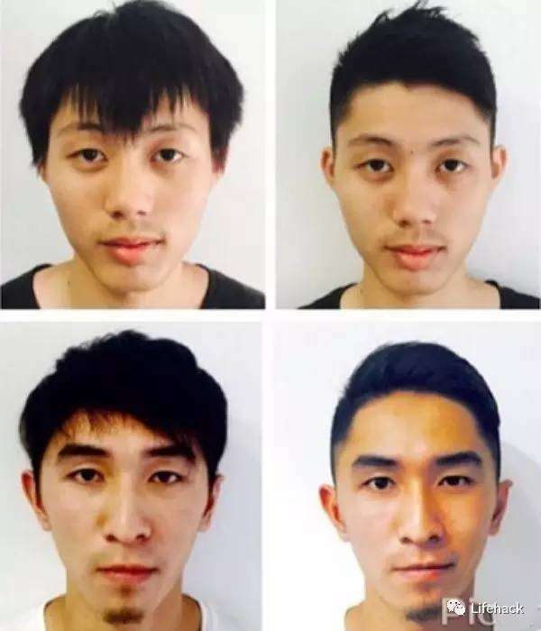 20~35岁亚洲男士发型参考