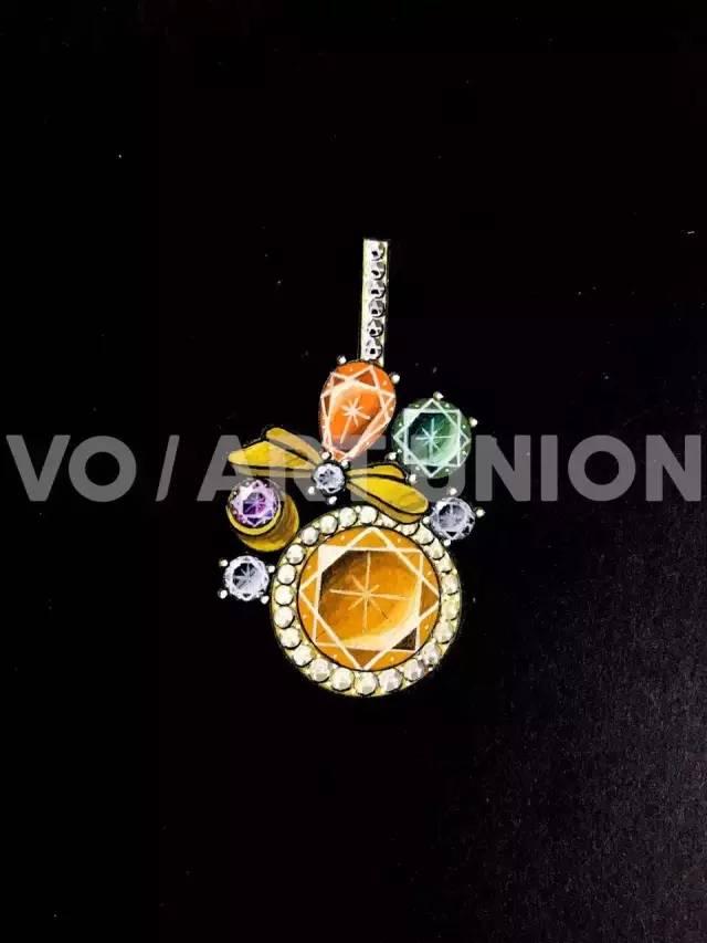 维欧上海|珠宝手绘 珠宝设计师的第一步