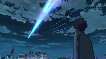 跪求 你的名字 彗星坠落的视频 要无水印的 我要做手机壁纸!