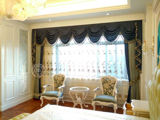 如何打造简约温馨的欧式窗帘?图片