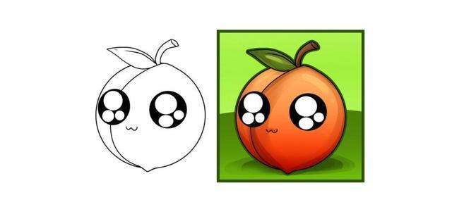 子小游戏 儿童水果简笔画,一步步详细地教你画