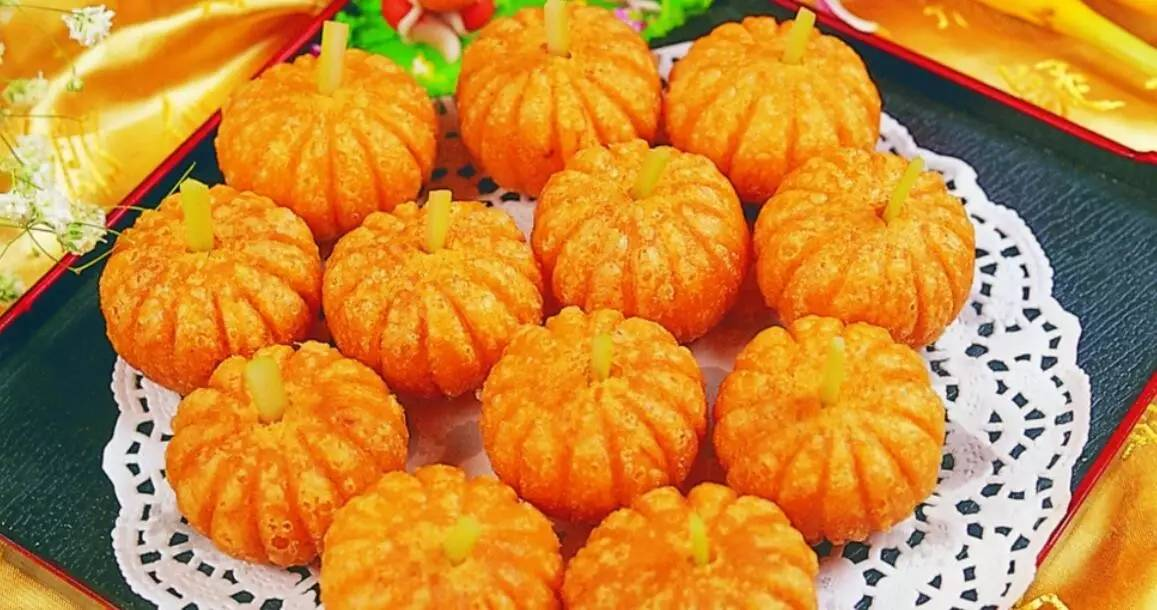 南瓜饼-国家认定的200个地方小吃 看看长春上榜几个