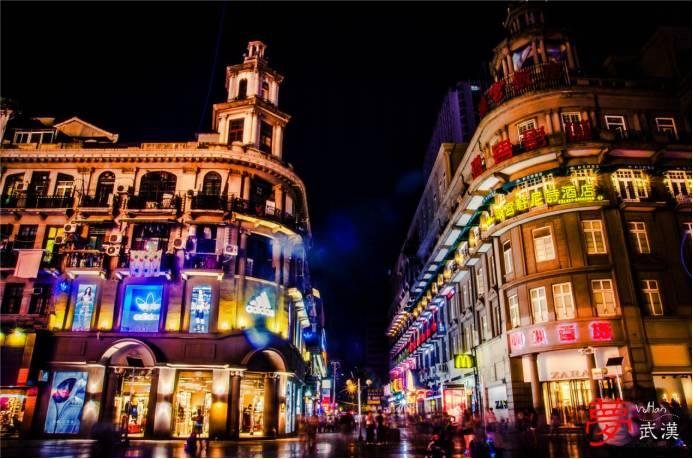 也是武汉旅游必逛的街道之一,满街的欧式建筑凸现了当年洋人的品味于图片
