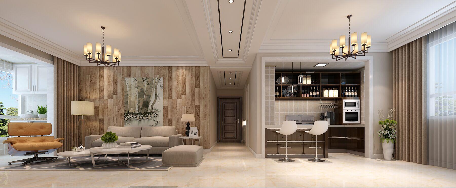 石家庄三居室房子,10万竟能装修的这么美!