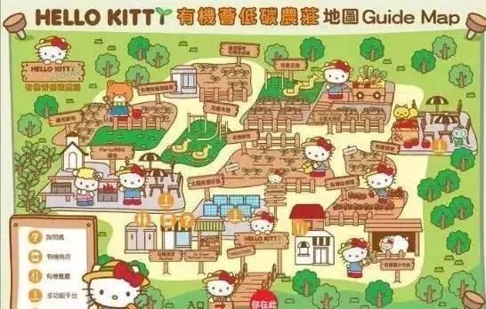 香港HelloKitty有机农庄--kitty猫化身有机图纸小农什么英文用数量图片