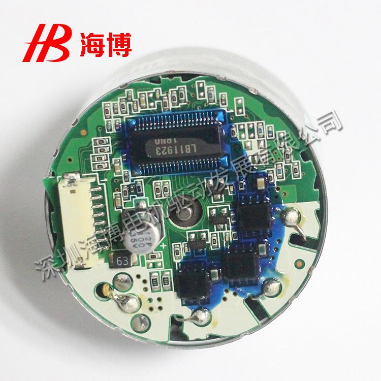可逆减速电动机,无刷电机方波控制原理简介