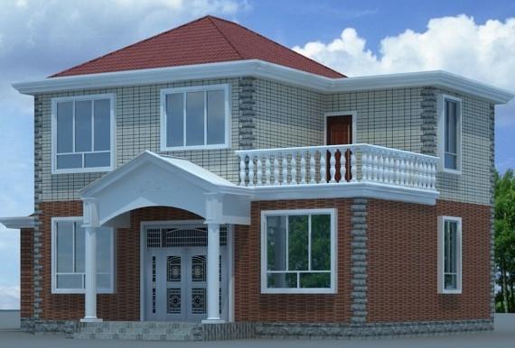 农村别墅设计图,真正适合农村的别墅 含施工图