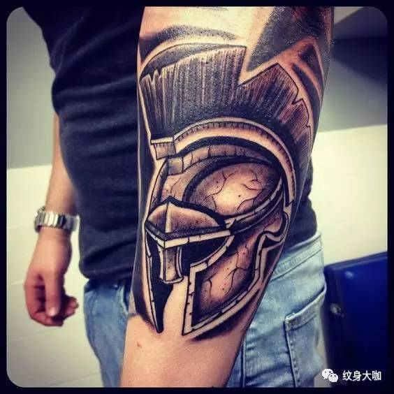 纹身素材:斯巴达